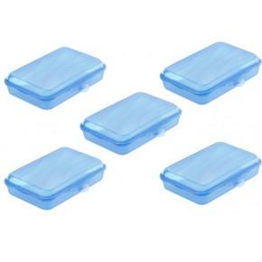 Lot de 5 FUNBOX T3 0.45L bleu