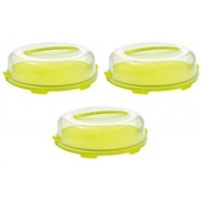 Boîte à gateau Fresh Lime 35,5 x 34,5 x 11,6 cm