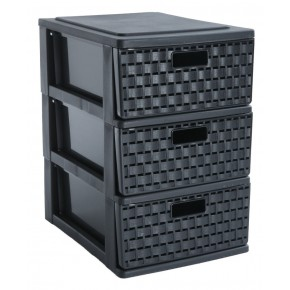Mini tour A5 / 3 tiroirs de rangement COUNTRY