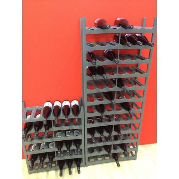 LOT DE 9 casiers à bouteilles VARIO 6 places