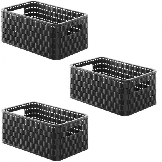 paniers rangement. Black Bedroom Furniture Sets. Home Design Ideas